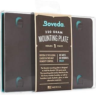 Boveda pour cigares | plaque d'installation Boveda en métal pour caves à cigares | pour un (1) Boveda taille 320 (vendu sé...