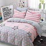 yaonuli Baumwolle vierteilige Baumwolle Köper Bettwäsche Doppelbett liefert City Star 1,2 m Bett