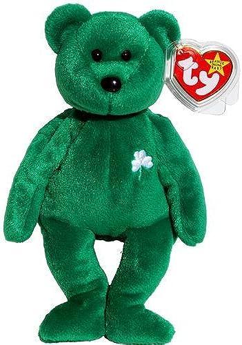 Ty Beanie Babies Erin - Irish Teddy by Beanie Babies - Teddy Bears