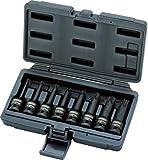 Ks Tools 911.0901 Jeu De Douilles Longues À Chocs Torx 1/2'' - 8 Pcs