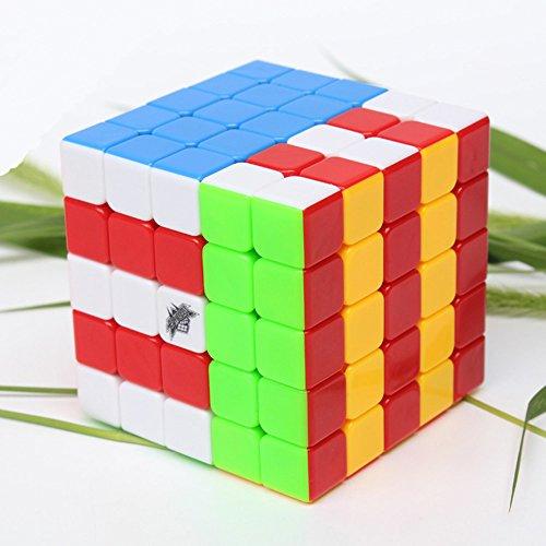 Wings of Wind - Suave y Velocidad 5x5x5 Cubo mágico Cubo Puzzle Cubo (2.51x2.51x2.51 Pulgadas)