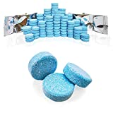100Pcs Windshield Washer Fluid Tablets,Windshield Washer Fluid Concentrate,1 Piece Makes 1.05 Gallons,1 Pack Makes 105 Gallons