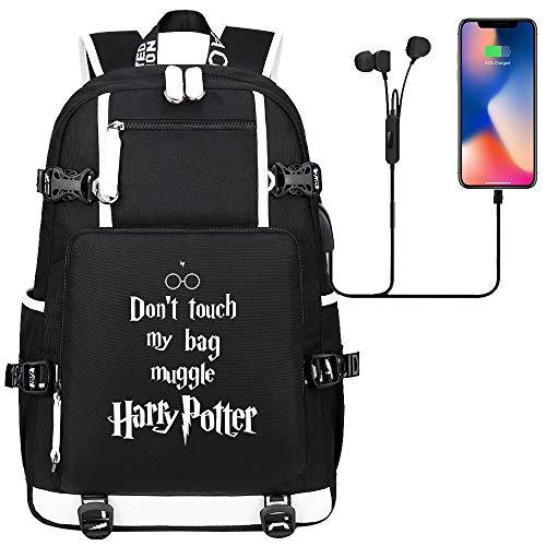 Mochila con Alfabeto de Harry Potter, Mochila para computadora portát