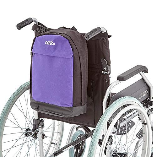 Nfudishpu Colourmax Mini-Rucksack für Rollstuhl und Elektromobil, Blau