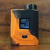 ModShield for IJOY CAPO 100 Silicone Case ByJojo Cover Shield Wrap Sleeve Skin (Orange/Black)
