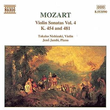 MOZART: Violin Sonatas, Vol. 4