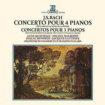 Bach: Concertos pour 3 et 4 pianos, BWV 1063, 1064 & 1065