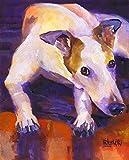 Greyhound Art Print | Greyhound Gifts | From...