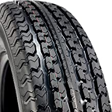 Set of 2 (TWO) Transeagle ST Radial II Premium Trailer Radial Tires-ST205/75R15 205/75/15 205/75-15 107/102L Load Range D LRD 8-Ply BSW Black Side Wall