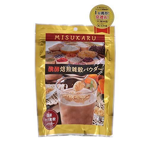 ミスカル 発酵焙煎雑穀パウダー 1袋(200g)