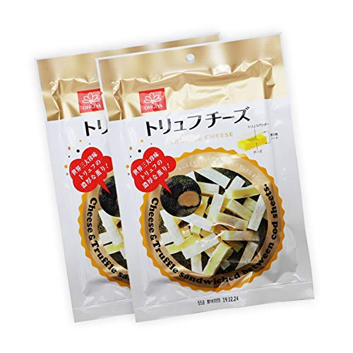 高級 トリュフ チーズ 110g(55g×2) 贅沢 濃厚 プロセスチーズ トリュフとチーズを鱈の身シートでサンド おやつ おつまみ に 110g(55g×2)