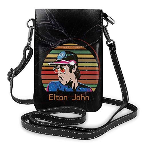 Elton Farewell Tour Gelber Backstein John Womens Girls Bag Kleine Schultertasche Brieftasche
