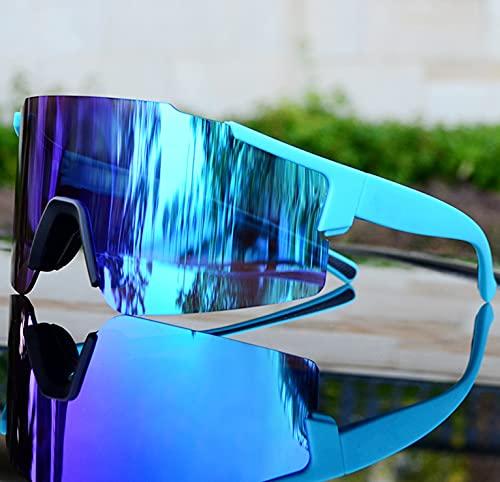 Mcottage Gafas de Ciclismo Menwomen Road Bike Gafas de Sol Ejecutar Eyewear Gafas Gafas Bicicletas Gafas MTB para Correr