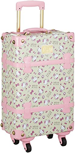Sanrio] Trunk Hello Kitty KT Living Pattern Trunk 54 cm...