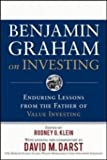 Benjamin Graham on Investing - Enduring Lessons from the Father of Value Investing