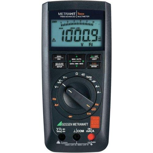 Gossen Metrawatt METRAHIT AM TECH Hand-Multimeter kalibriert (DAkkS-akkreditiertes Labor) digital CA