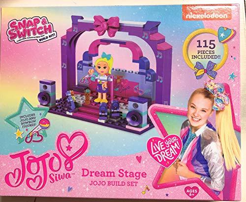 Snap & Switch JoJo Siwa Dream Stage Build Set 115 Pieces JoJo Build Set
