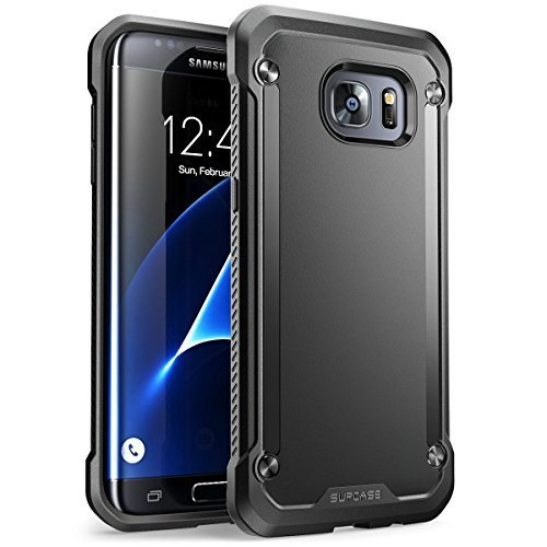SUPCASE Unicorn Beetle Style Case Designed for Galaxy S8 Plus, Premium Hybrid Protective Clear Case for Samsung Galaxy S8 Plus 2017 Release (Black)