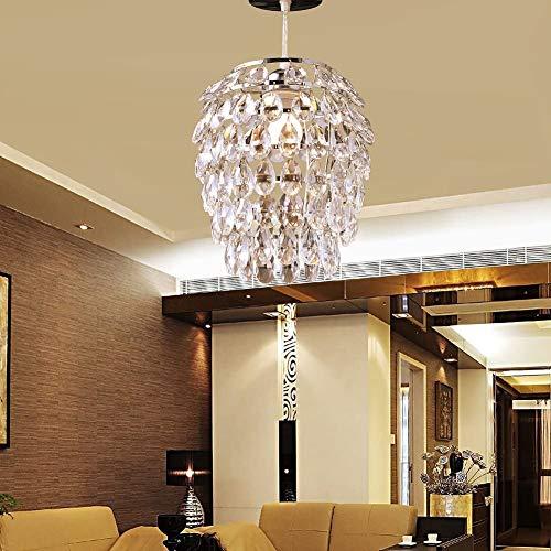U'Artlines Kristall Kronleuchter Moderne Anhänger Kronleuchter Kristall Beleuchtung Deckenleuchte Lampe für Esszimmer