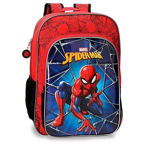 Mochila 40 cm Spiderman Black