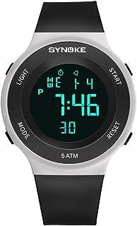 ec5a05038 Relojes Pulsera Multifunción Calendario Mes Semana Alarma Digitale Relojes  Hombre Correa de Silicona Deportivo Moderno