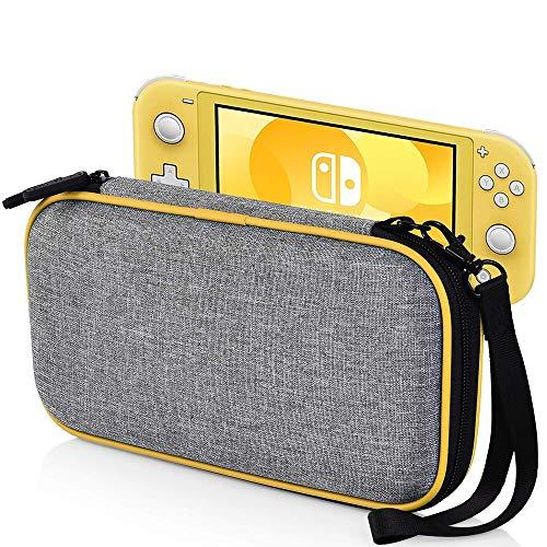 ALRY Draagtas voor Nintendo Switch Lite - Draagbare Harde Schelp Reizen Draagtas, Switch Lite Waterdichte Case Cover met Opslag voor Accessoires & Spelkaarten