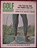 Golf Digest September 1968 You Too Can Join the Power-Ball Set, Candid Comments on Country Club Life, Answers to All Your Par-3 Problems