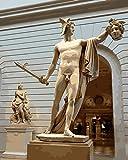 Handaxian Art Stampa Artistica,Riproduzione del Famoso Dipinto a Olio per Camera da Letto,Decorazione in casa-Statua Classica(50x75cm) Senza Cornice