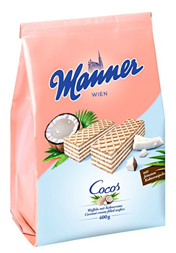 Manner Cocoscreme Schnitten, 400 g