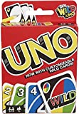 Kids Uno- GET Wild- The Classic Card Game of Matching Colours and Numbers! Special Action Cards and Wild Cards for Unexpected Excitement and Game-Changing Fun.
