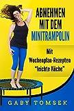 Abnehmen mit dem Minitrampolin: Mit Wochenplan-Rezepten 'Leichte Küche'