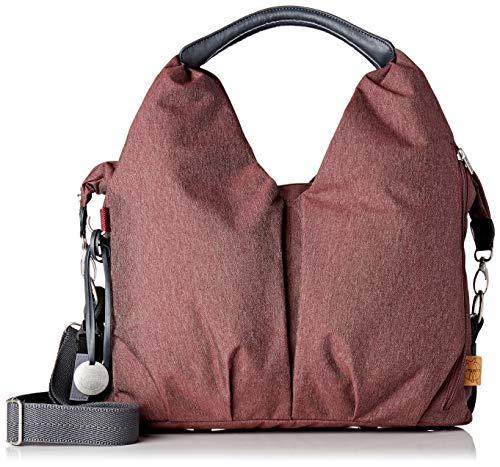 LÄSSIG Baby Wickeltasche Stylische Tasche nachhaltig inkl. Wickelzubehör / Green Label Neckline Bag