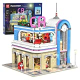 Karei Toys for Teen and Adults, California Restaurant Building Kit, Girls Gifts for Age 8-12 Years Old, Assembly Toy Building Sets for Adults Challenging, Toys for 8+ Year Old Boys Girls [2078 Pieces]
