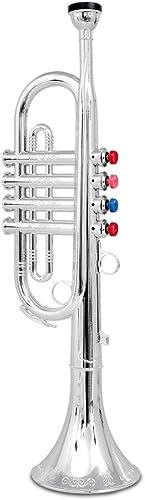 BONTEMPI-TR 4231/N-instrument de musique-Trompette 4 notes 415 mm.