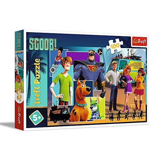 Trefl, Puzzle, Scooby Doo! Wo bist du?, 100 Teile, Warner, für Kinder ab 5 Jahren