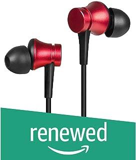 (Renewed) Mi Earphones Basic with Mic (Red)