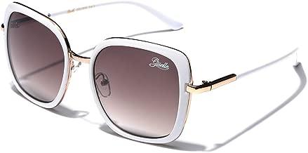 Giselle Oversized Square Women's Vintage Fashion Statement Sunglasses Medium-Large