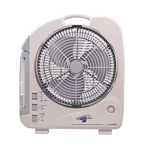 YINUO Fans Ventilador eléctrico Moderno Mute Creativo Fluorescente portátil Sobremesa Ventilador de...