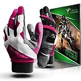 POISON SCORPION Motorcycle Motocross Dirt Bike Gloves for Men Women | Pink M