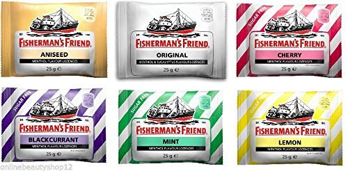 Fisherman's Friend Multi Pack - 6 Different Flavours by Fishermans Friend