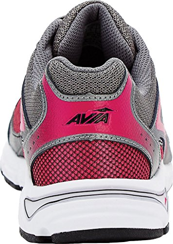 Avia Women's Avi-Execute Black/Dark Pink/Dark Grey Athletic Shoe