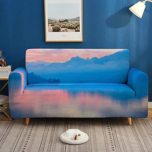 HXTSWGS Fundas de sofá de Alta Elasticidad,Fundas 3D para sofás, Funda de sofá elástica elástica, Funda de sofá de 1/2/3/4 plazas, Fundas de sofá para salón-BDW47_1-Asiento 90-140cm