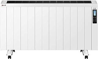 GFYL Radiador de convección, Calentador de energía de bajo Consumo, Calentadores eléctricos de Pared, Control Remoto WiFi de teléfono móvil, para el hogar y la Oficina,2000W