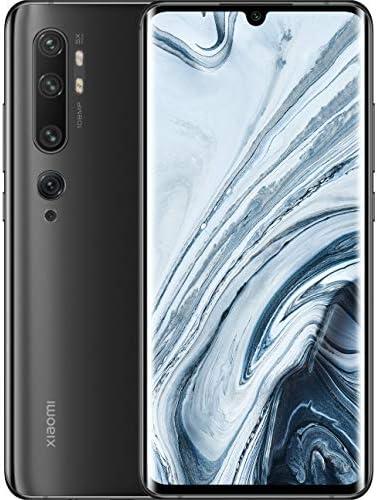 Xiaomi Mi Note 10 128GB 108MP Penta Camera 6.47″ LTE Factory Unlocked Smartphone (International Version) (Midnight Black)