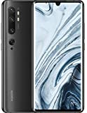 Xiaomi Mi Note 10 Smartphone, 6 GB RAM + 128 GB ROM, Schermo 3D Curved Amoled 6.47' FHD+, Penta Camera 108 MP, 5260 mAh, Midnight Black