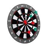 Juego De Dardos De 16 Pulgadas 100% Seguro Match Play con Un Juego De Propinas Dart Dart Accesoires Professional Darts Set Gift-Tablero Más 6 Dardos