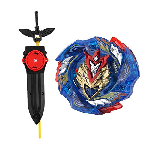 Dead Had/ès 11Turn Zephyr B Blesiya Toupie Magie Gyro Combat Gyroscope Toupie Lanceur de Cha/îne Kit Animation Jouet B-125 01