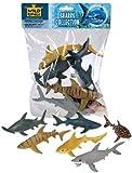 Wild Republic Shark Polybag, Educational Toys, Kids Gifts, Aquatic, Zoo Animals, Shark Toys, 6-Pieces
