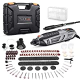 TACKLIFE Rotary Tool 200W Power Variable Speed with MultiPro Keyless Chuck and Flex Shaft, 170 Accessories, Carrying Case, Multi-Functional for Around-The-House and Crafting Projects - RTD36AC