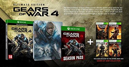 Gears of War 4 - Ultimate Edition [AT-PEGI] [Importación alemana]